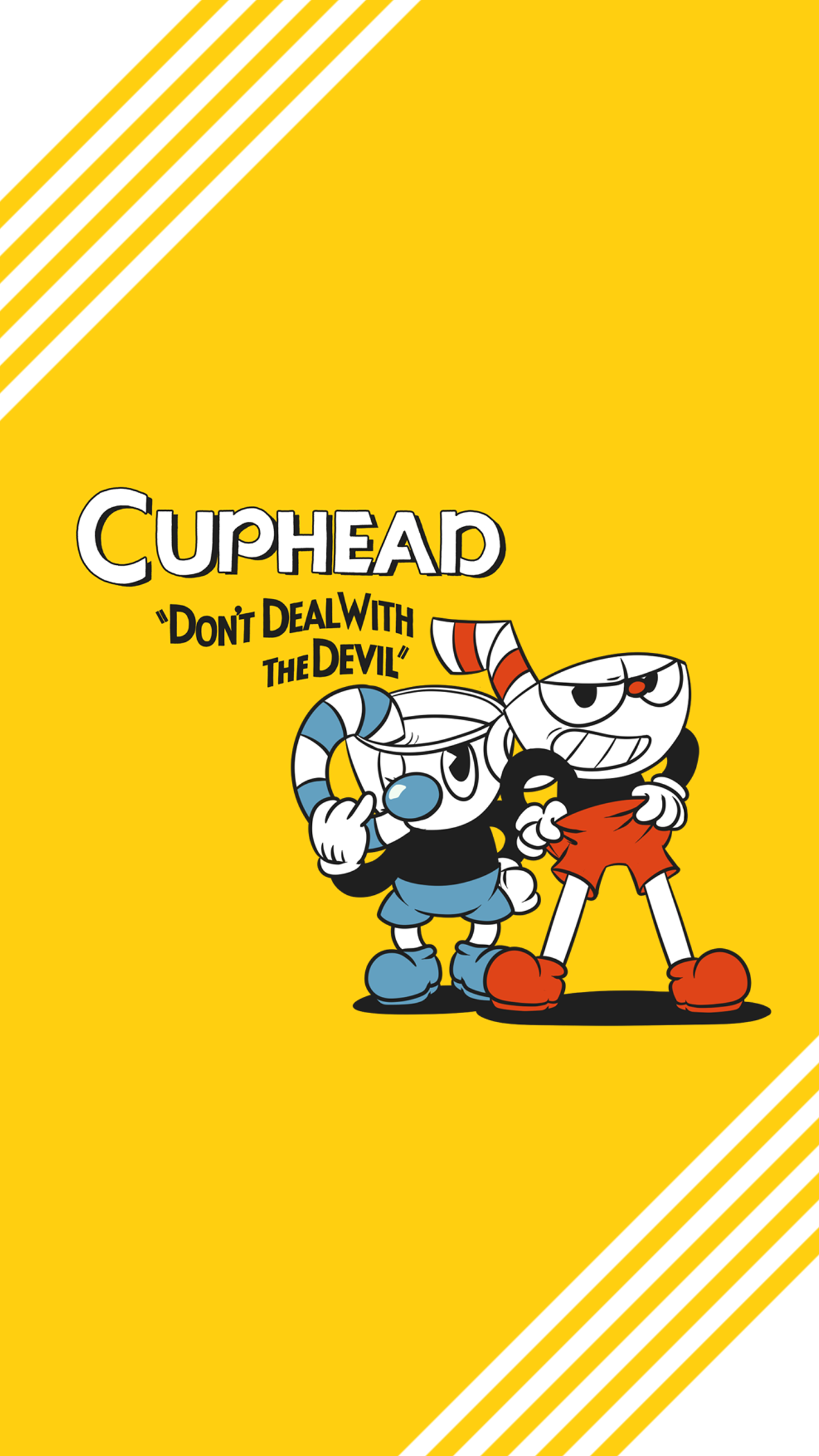 Cuphead Wallpaper Mobile by Mararia0w0