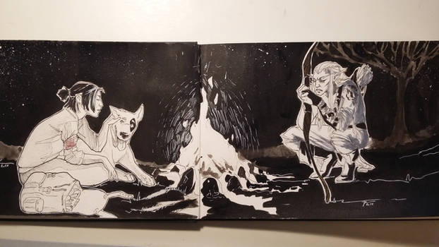 Inktober whole page