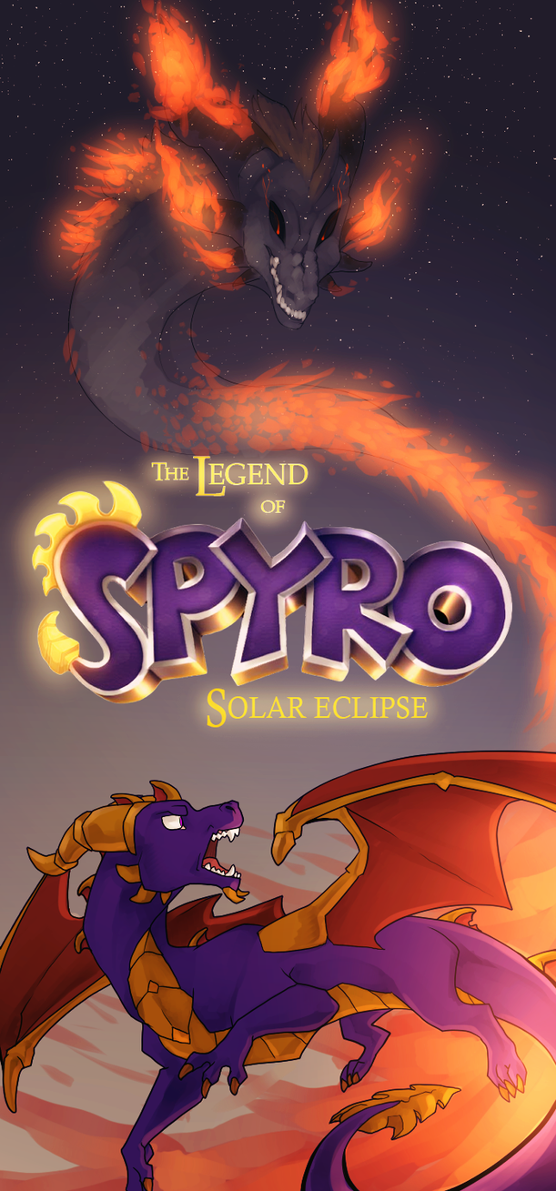 the legend of spyro solar eclipse by nerolovescynder on deviantart