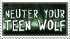 Neuter Your Teen Wolf by alaska-is-a-husky