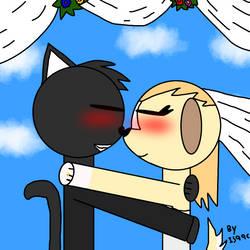 black and angela weddings