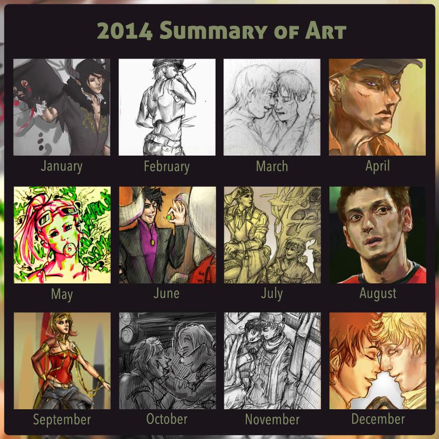 2014 Summary of Art by lumisse