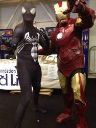 My Ironman suit at Dublin Comic Con 2014