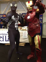 My Ironman suit at Dublin Comic Con 2014 by jonny3777
