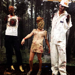 This silent hill nurse cosplay is also by me