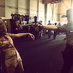 Silent hill vs The walking dead cosplay