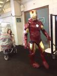 walking around the arena