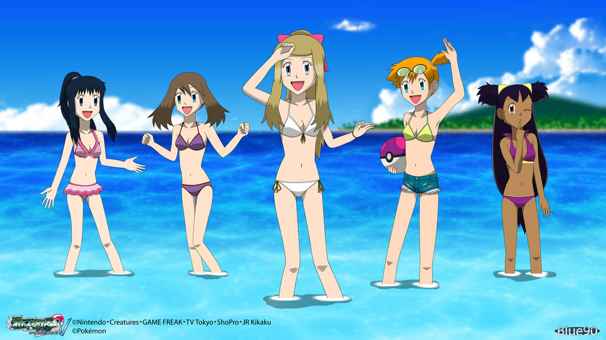 397d52d412 PKMN V - Swimsuit Girls 2 4K by Blue90 on DeviantArt