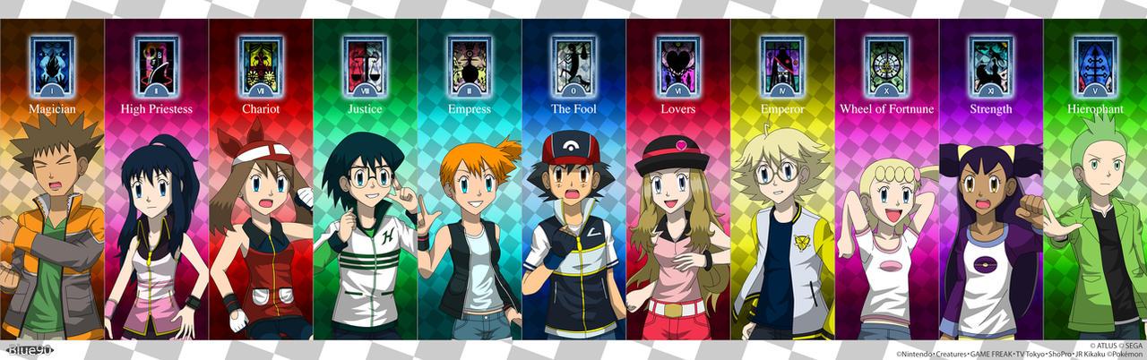 PKMN V - Persona-Style Character Symbols