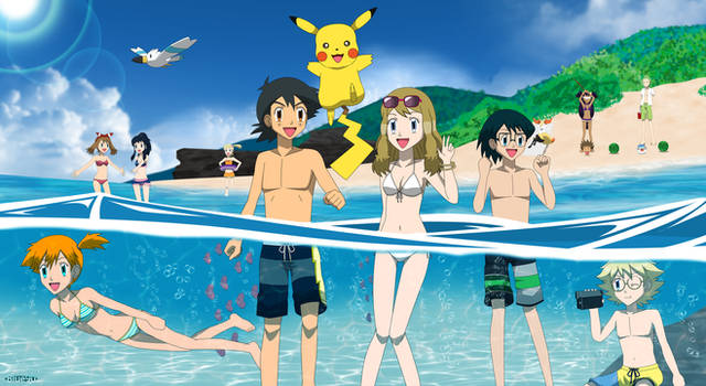 PKMN V - Group Beach Summer 2015 (600th Deviation)