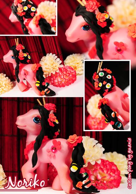 Custom Pony : Noriko by yuanie