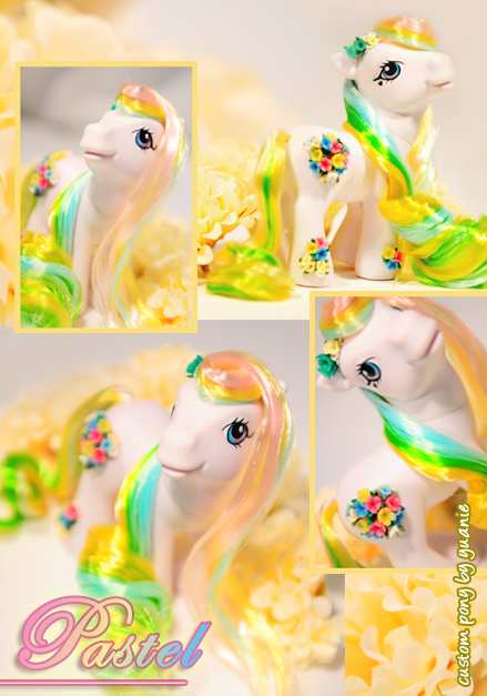 Custom Pony : Pastel by yuanie
