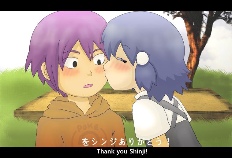 ::Thank you Shinji:: by SkiM-ART