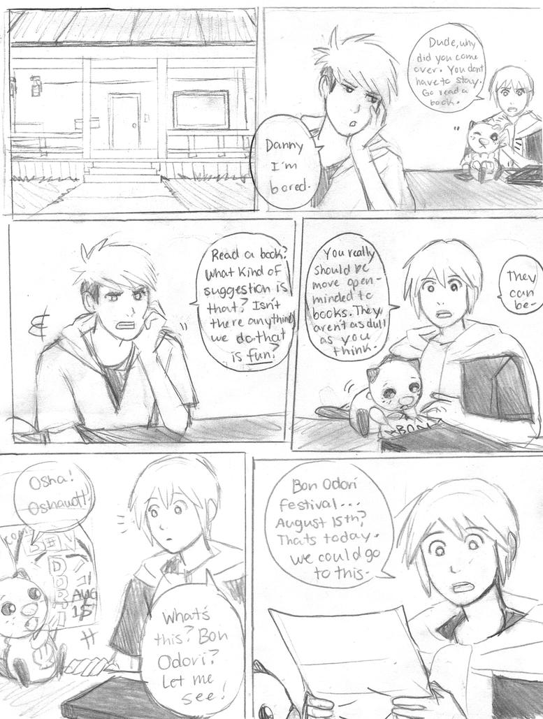 PKMN Legends doujin: Bon Odori Mixup pg 2 by SkiM-ART