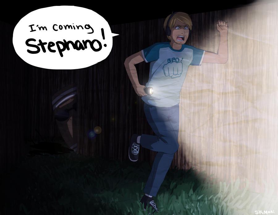 I'm Coming Stephano! by SkiM-ART