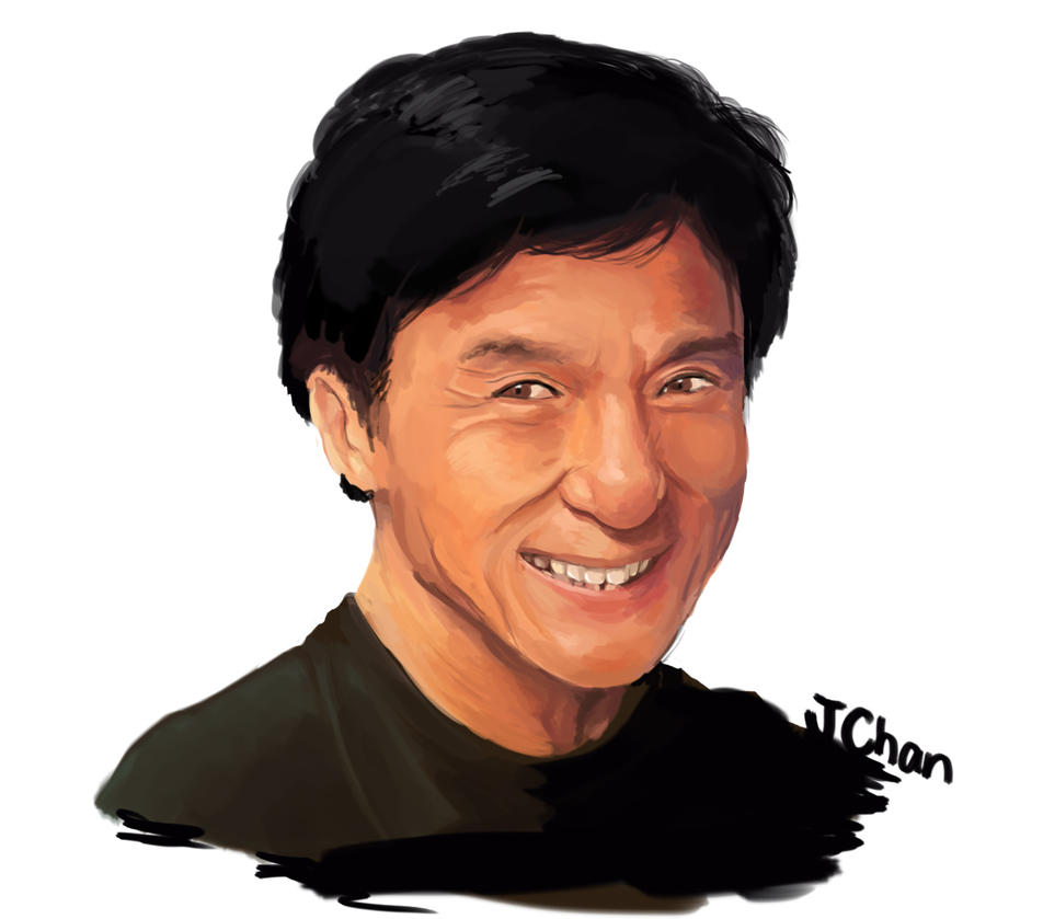 Speed Paint: Jackie Chan by SkiM-ART