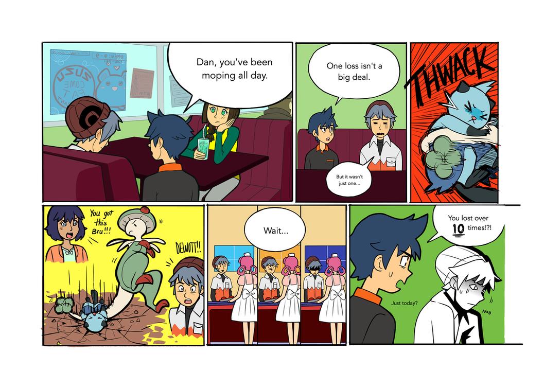 PKMN: Hidden Talents Page 1 by SkiM-ART