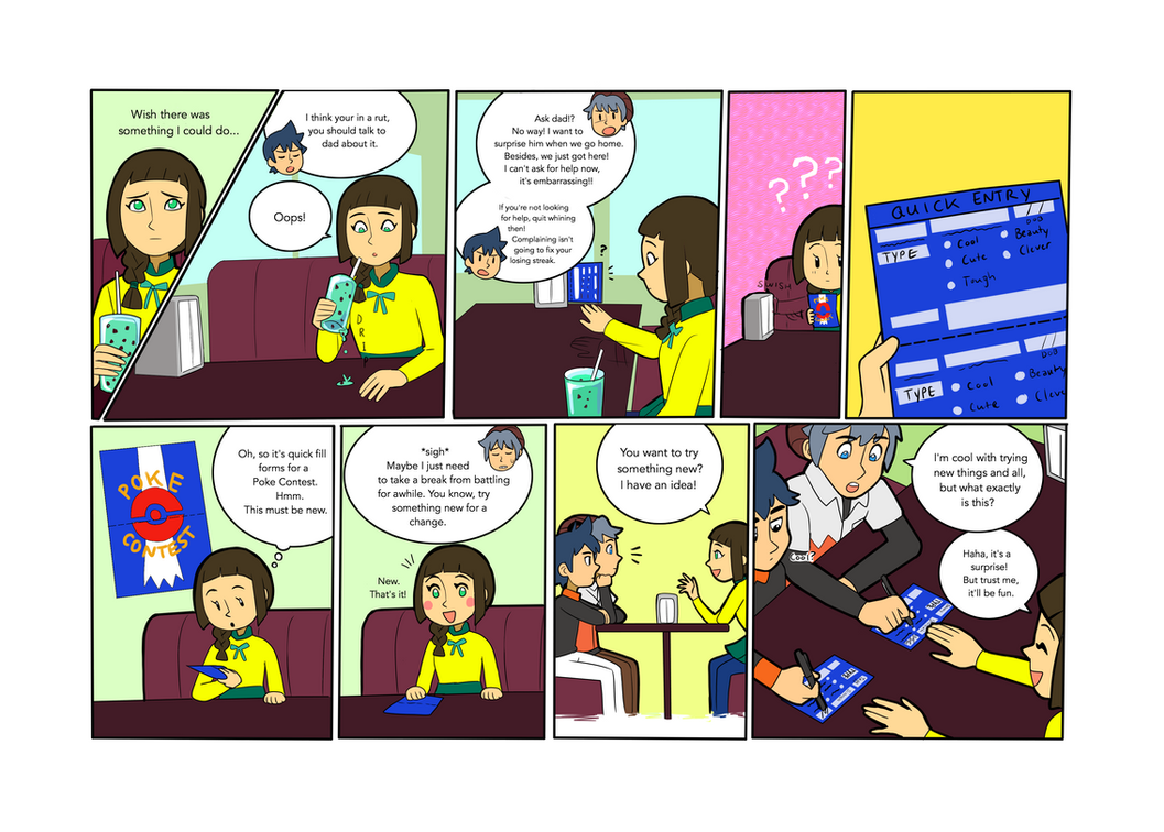 PKMN: Hidden Talents Page 2 by SkiM-ART