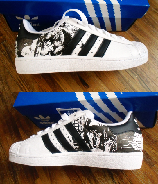 80731afaa3e6 Custom shoes adidas 2 by kedart on DeviantArt