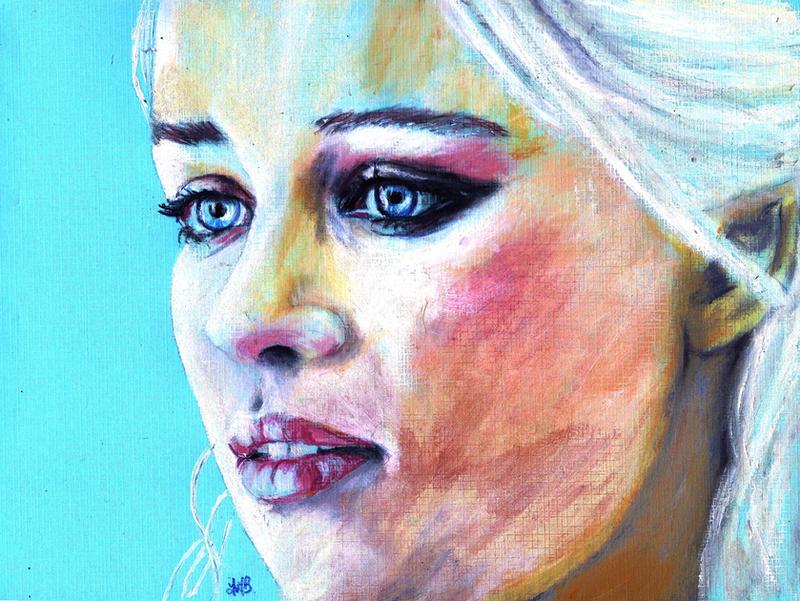 Danearys Targaryen by YvyB13