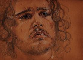 Jon Snow by YvyB13