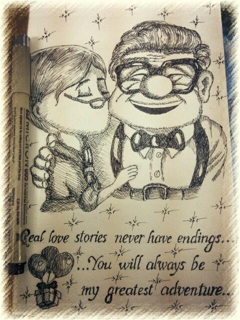 Quotes Book Ellie And Carl Up Movie By Baukien On Deviantart