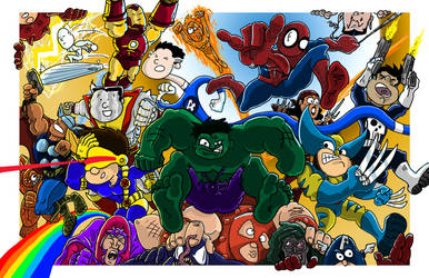 MARVEL MADNESS by theHATCHMAN