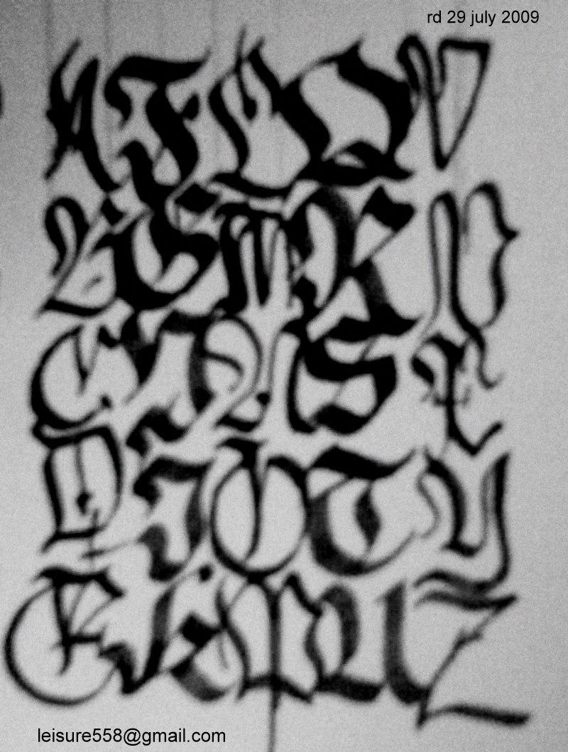 Abcd Alphabet By Rdx558 On Deviantart