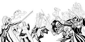 Super Villain Group by Secret-Original