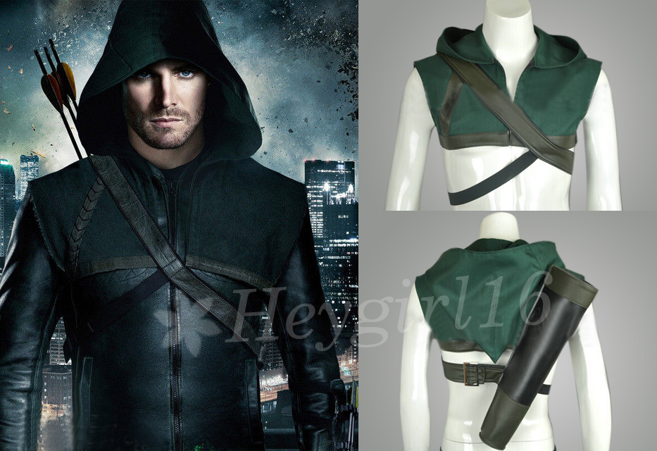 Green Arrow Oliver Queen Vest Cosplay Costume by MedusaLiu ...  sc 1 st  DeviantArt & Green Arrow Oliver Queen Vest Cosplay Costume by MedusaLiu on DeviantArt