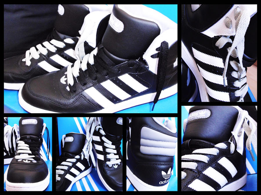 Mentalmente Conciso golpear  Adidas Woodsyde 84 Black by IceCrushers on DeviantArt
