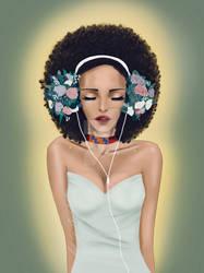 Unity_flower headphones