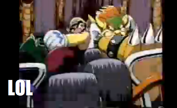 Bowser Vs Wario MK64 LOL