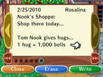 Tom Nook's Hugs