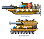 Glaicer D. Koopa's Vehicles