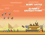 Battlestation in the Desert