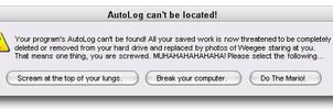 Error Message OMG.