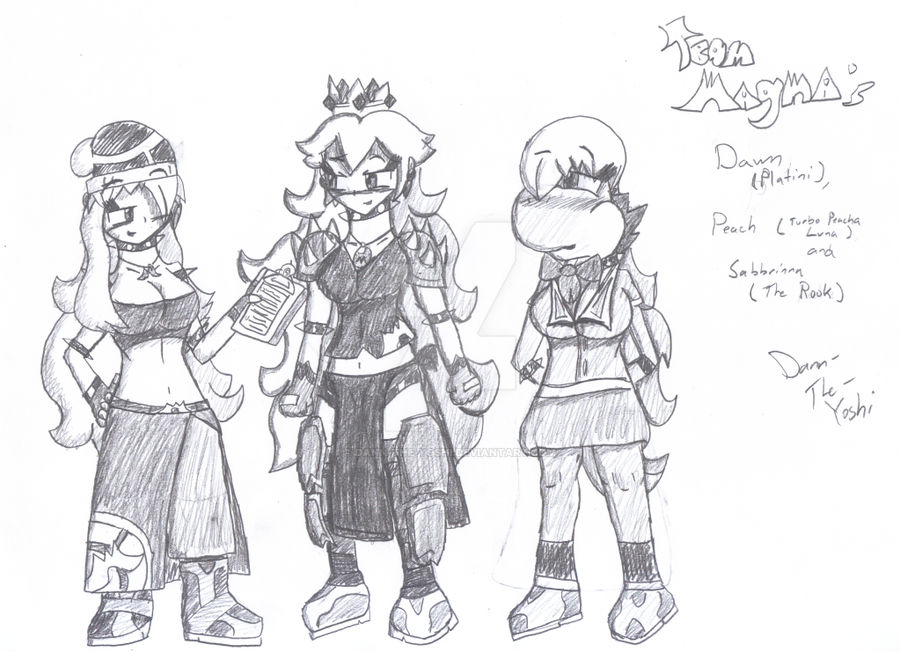Team Neo Magma Minor Admins