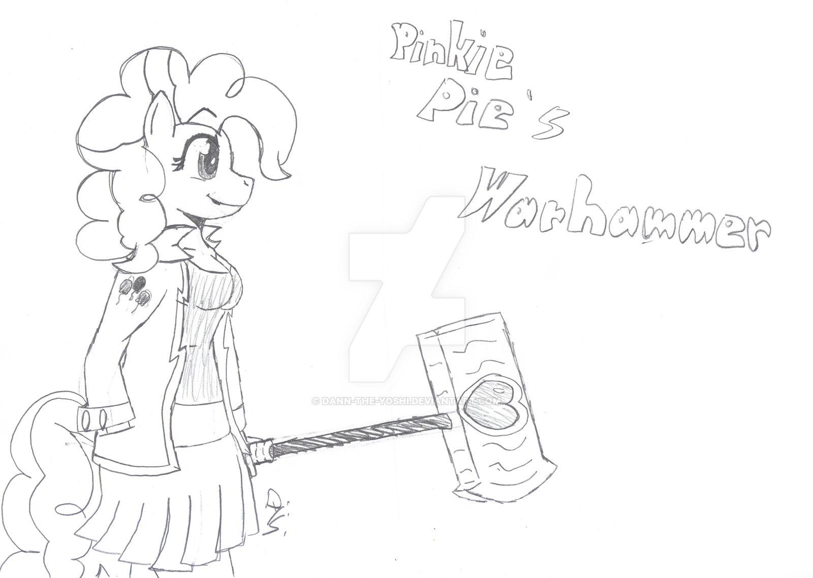 Pinkie Pie's Warhammer