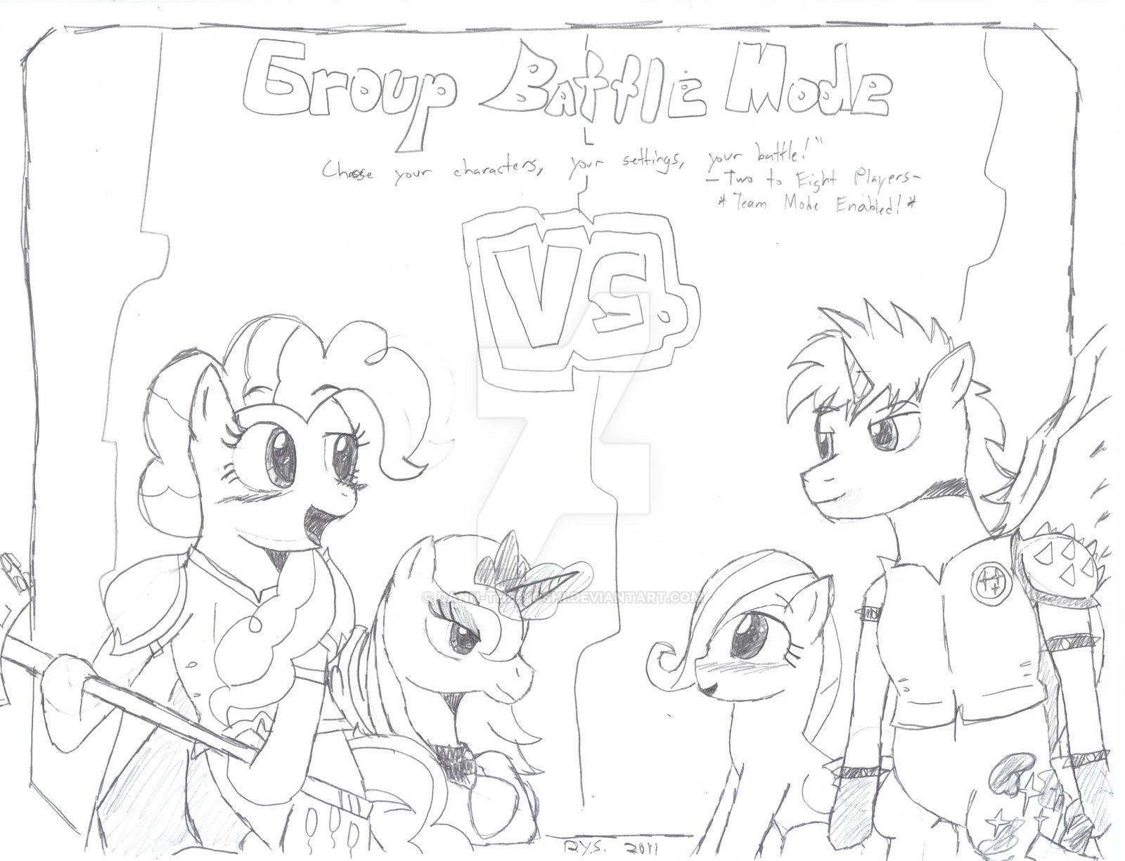 MLP SPU - Group Battle Mode