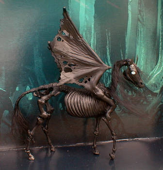 Perselus-Thestral by ElkStarRanchArtwork