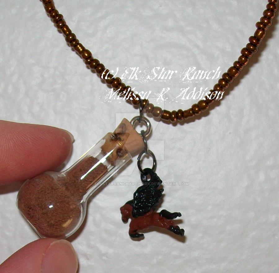 Pegasus Pellet Necklace by ElkStarRanchArtwork