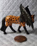 Halloween Appaloosa Bat Horse