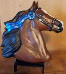 Morgan Horse Head Medallion