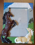 5x7 Horse Picture Frame