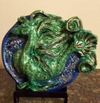 Sea Horse Medallion