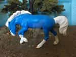Model Horse Blab Spring Swap Blue