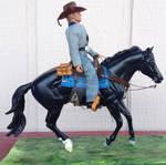Walt Longmire and Horse
