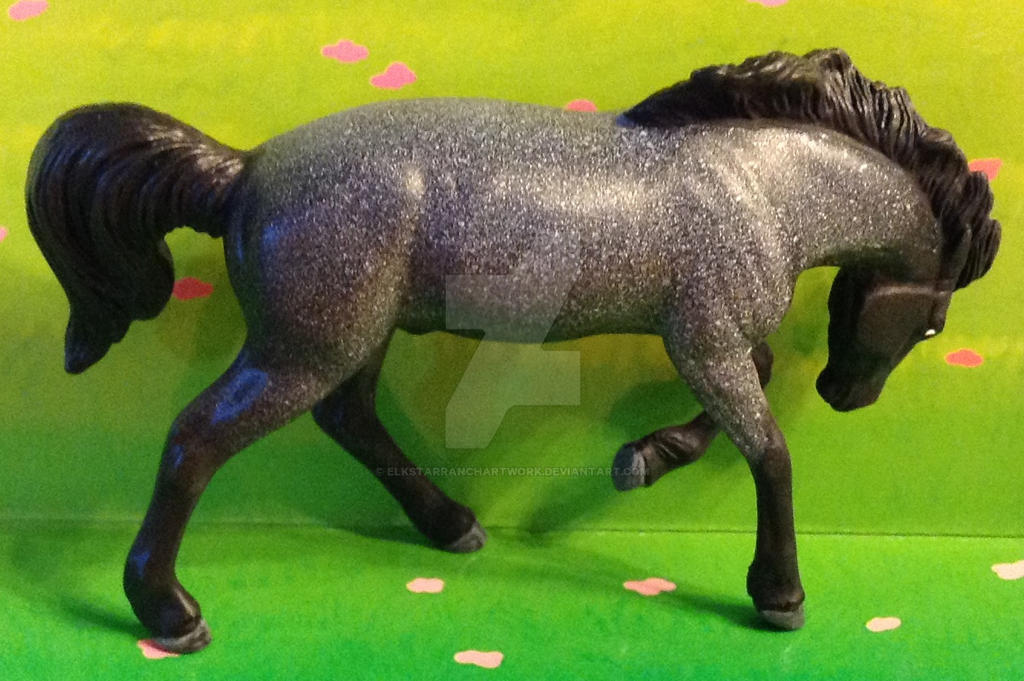 2018 Model Horse Blab Spring Swap Pony 1 by ElkStarRanchArtwork