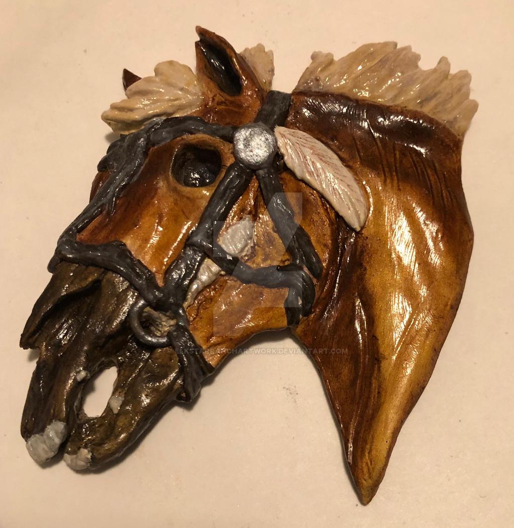 2018 Haunted Horse Live Medallion
